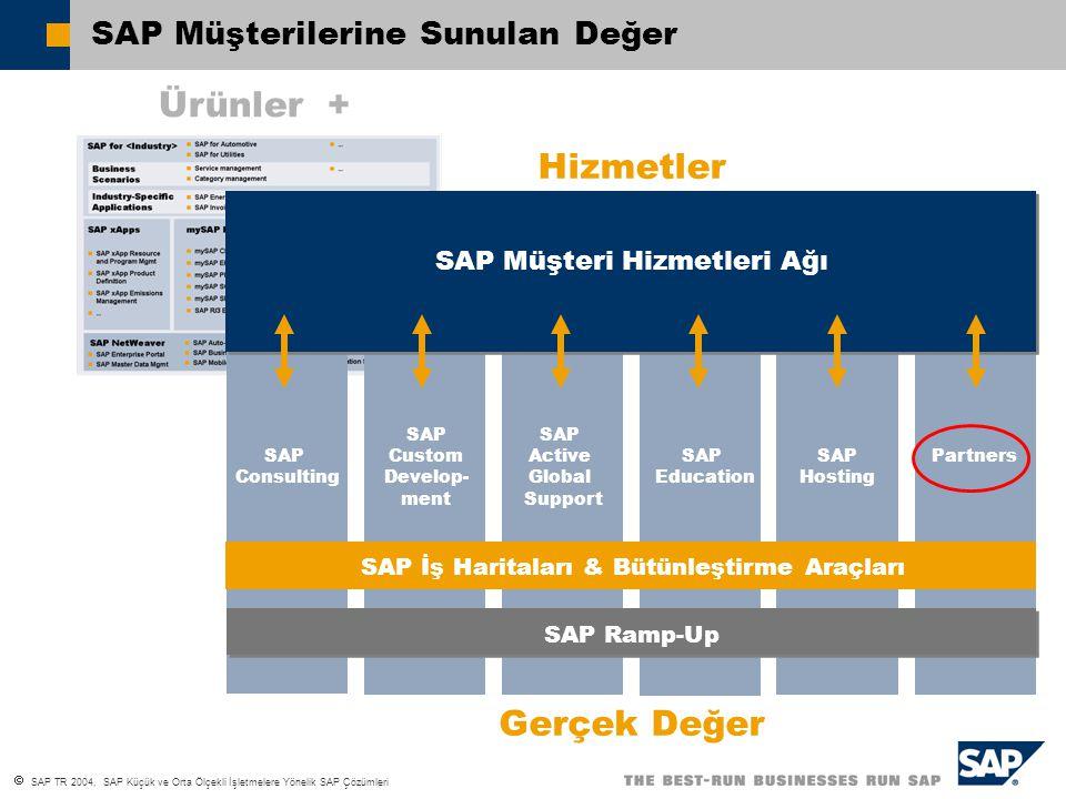 SAP Müşterilerine Sunulan Değer