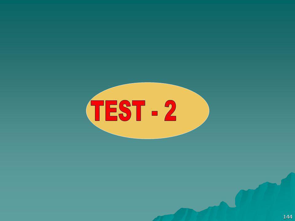 TEST - 2