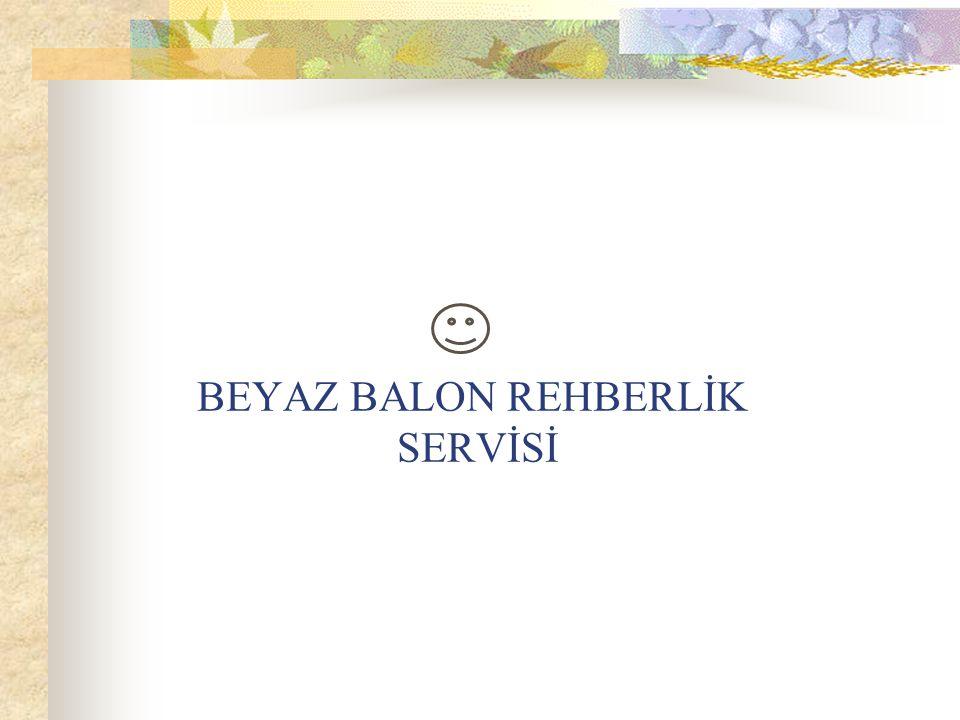 BEYAZ BALON REHBERLİK SERVİSİ