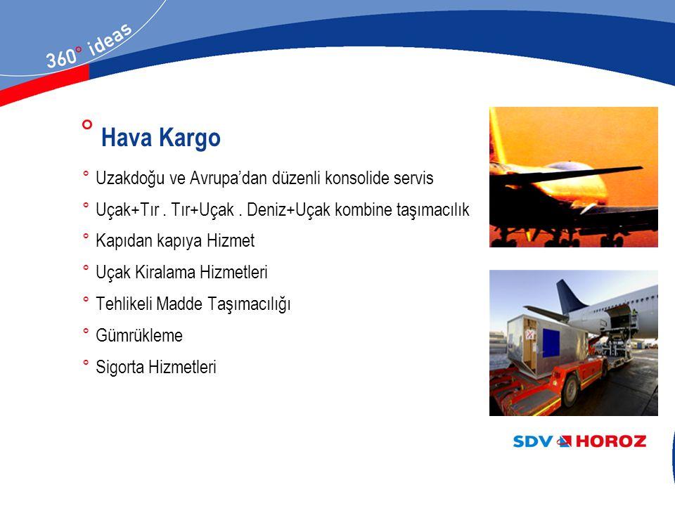 Hava Kargo Uzakdoğu ve Avrupa'dan düzenli konsolide servis