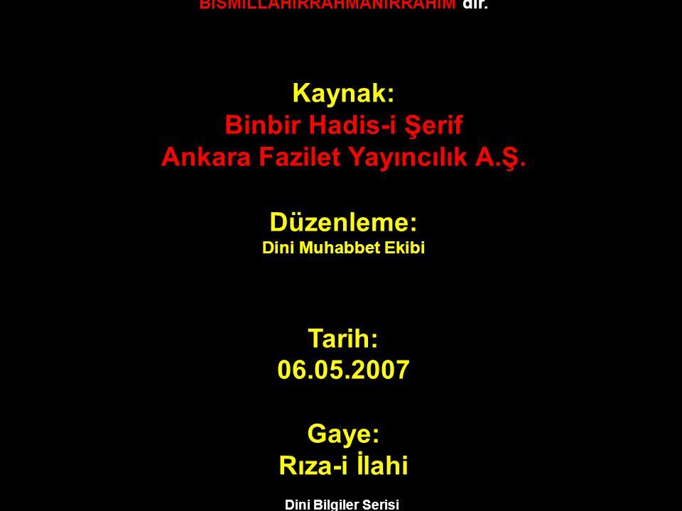 Ankara Fazilet Yayıncılık A.Ş. Düzenleme: