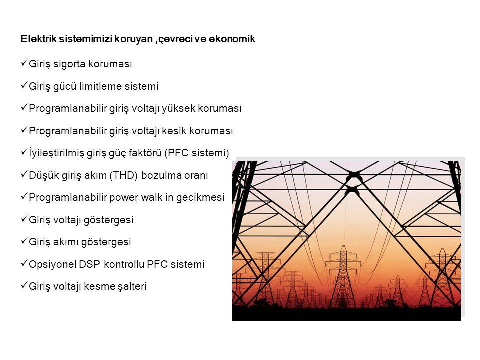 Elektrik sistemimizi koruyan ,çevreci ve ekonomik