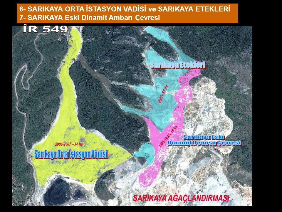 Dinamit Deposu Çevresi Sarıkaya Orta İstasyon Vadisi