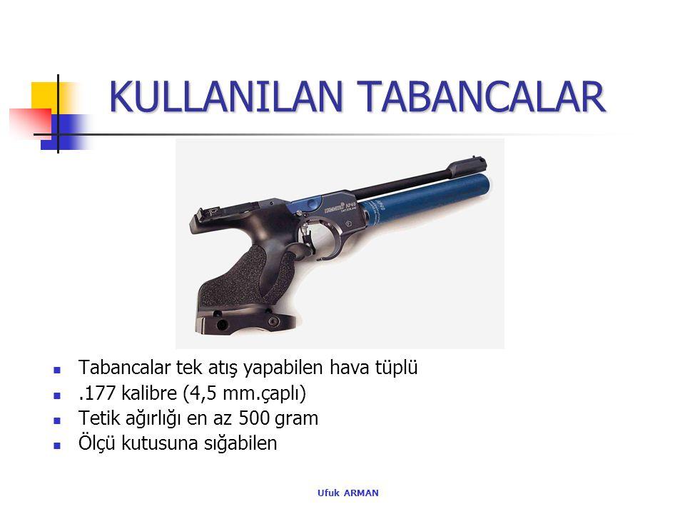 KULLANILAN TABANCALAR