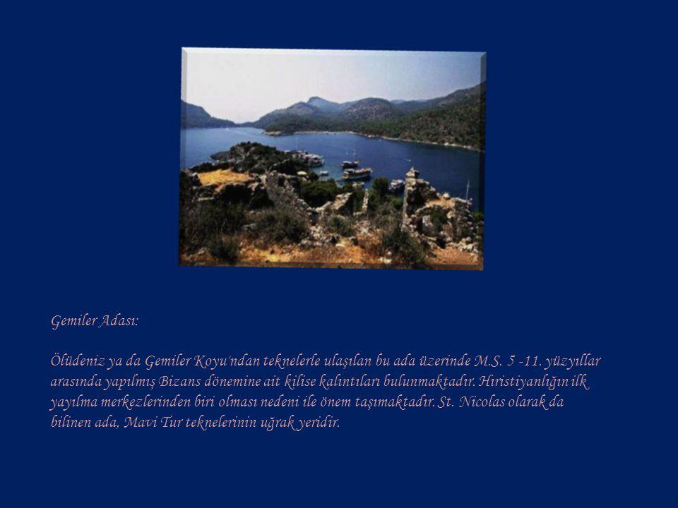 Gemiler Adası: