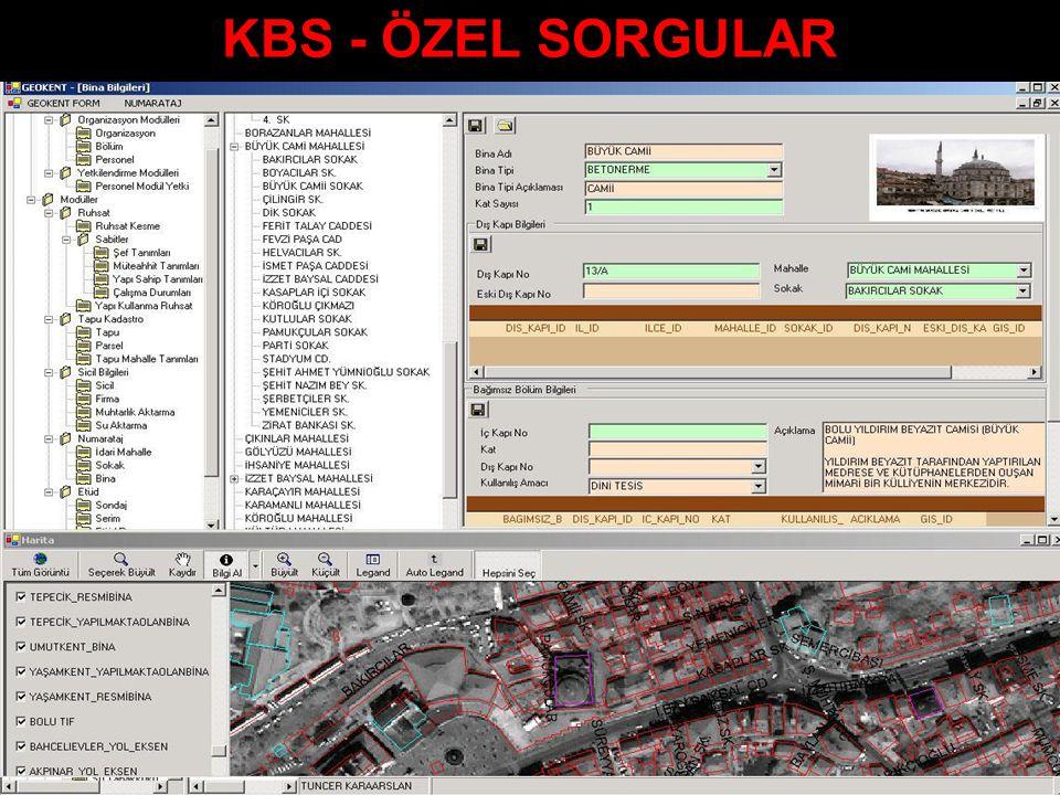 KBS - ÖZEL SORGULAR