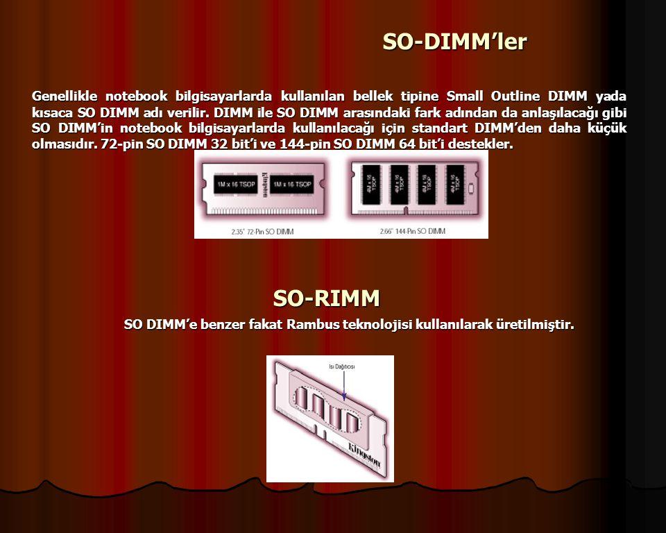 SO-DIMM'ler