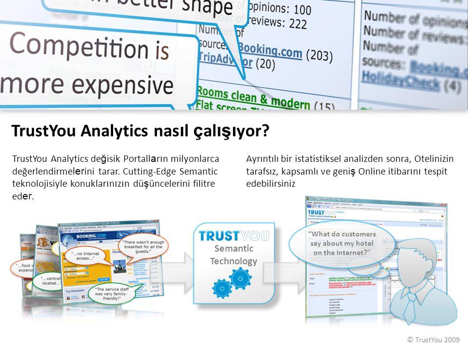 TrustYou Analytics nasıl çalışıyor