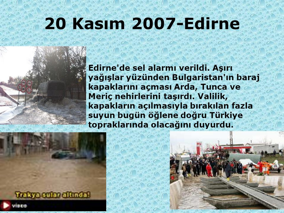 20 Kasım 2007-Edirne
