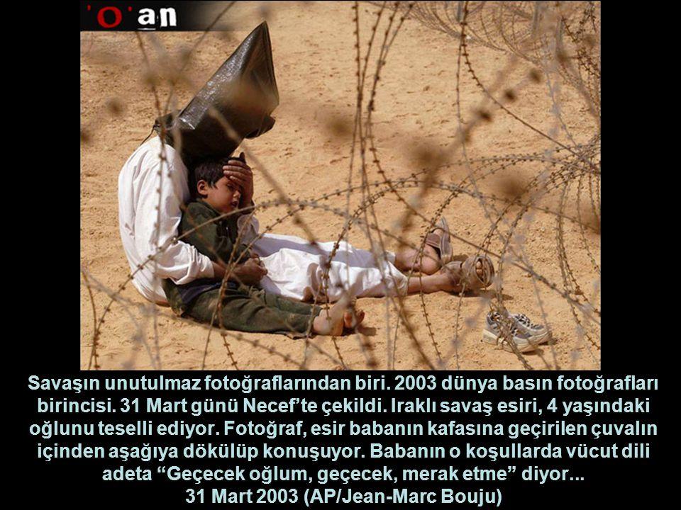 Savaşın unutulmaz fotoğraflarından biri