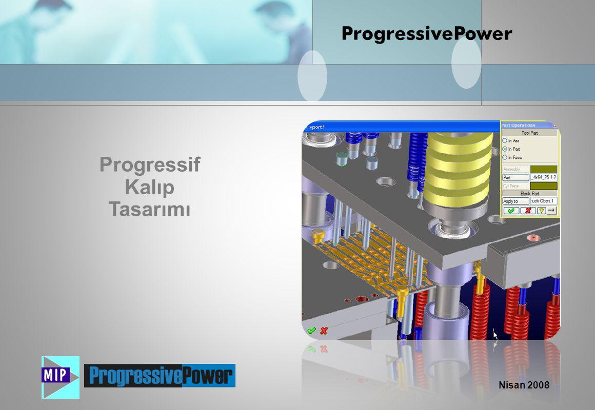 Progressif Kalıp Tasarımı