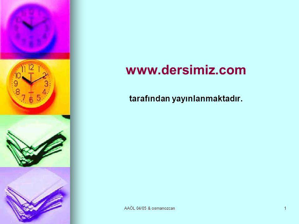 www.dersimiz.com tarafından yayınlanmaktadır.