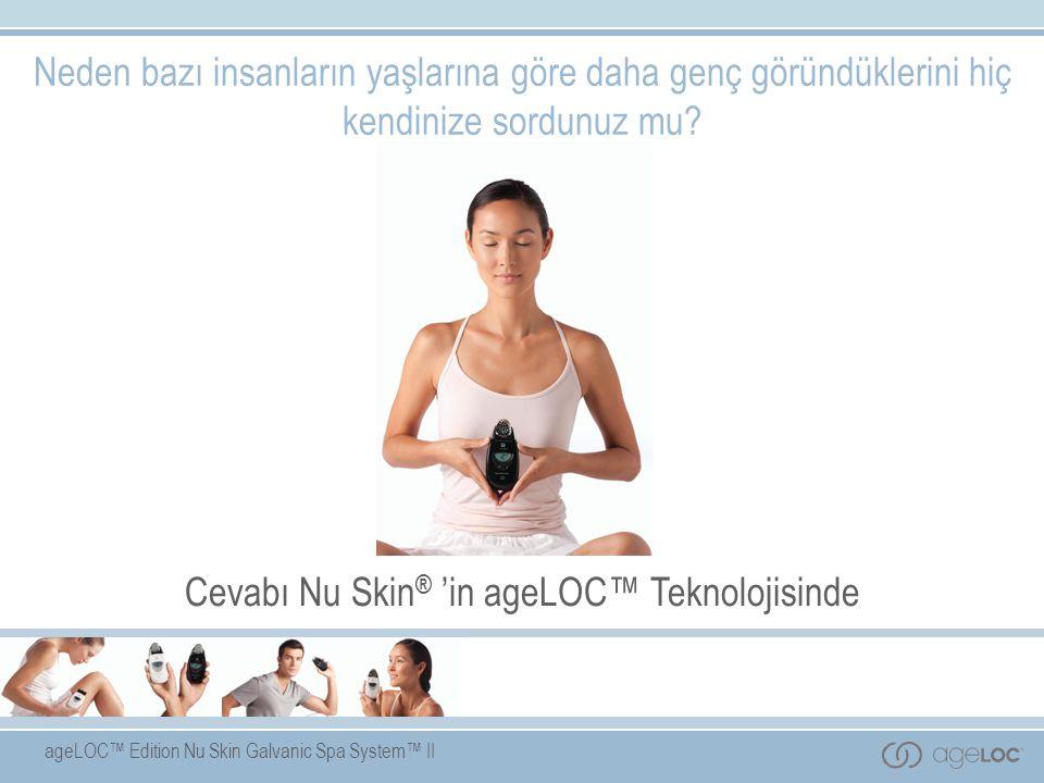 Cevabı Nu Skin® 'in ageLOC™ Teknolojisinde