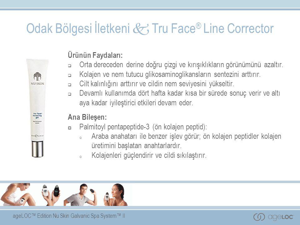 Odak Bölgesi İletkeni  Tru Face® Line Corrector