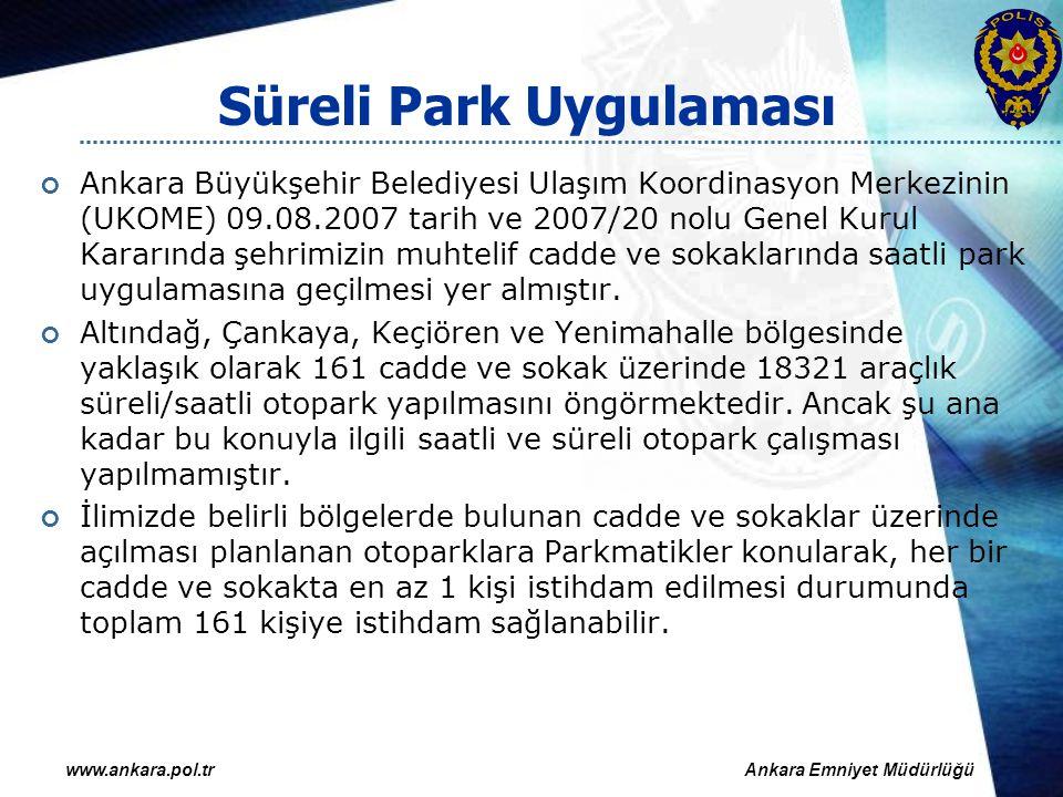 Süreli Park Uygulaması