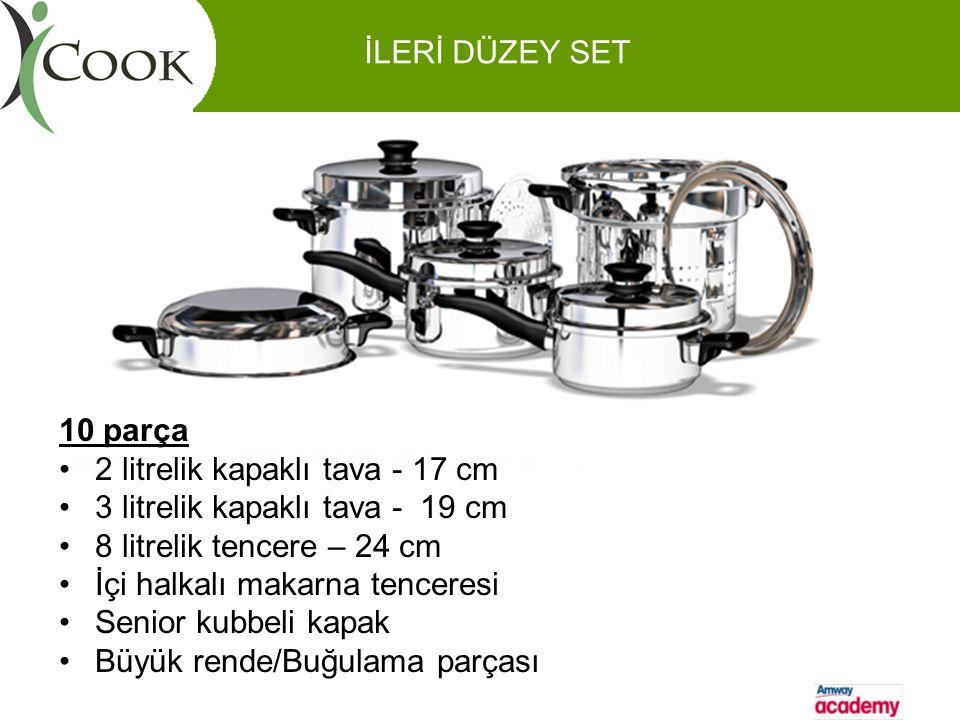 İleri Düzey Set İLERİ DÜZEY SET 10 parça