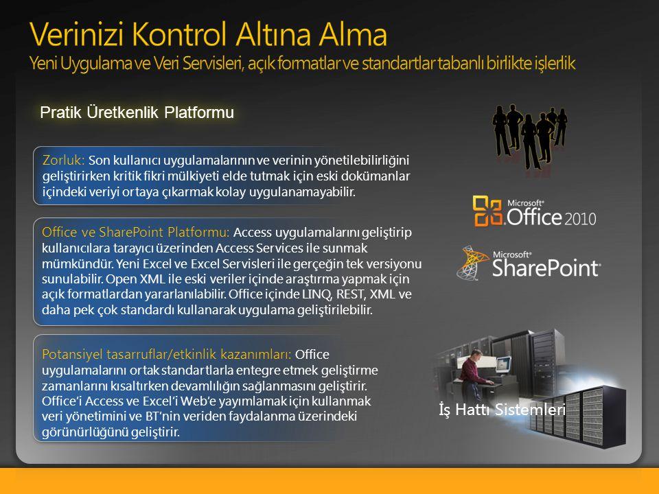 Verinizi Kontrol Altına Alma Yeni Uygulama ve Veri Servisleri, açık formatlar ve standartlar tabanlı birlikte işlerlik