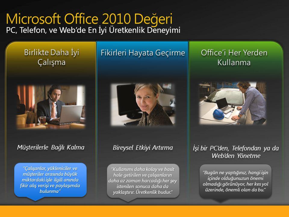 Microsoft Office 2010 Değeri