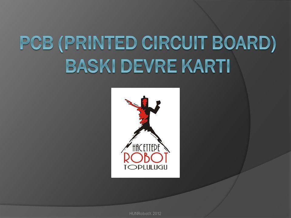 PCB (Printed circuit board) BaskI devre kartI