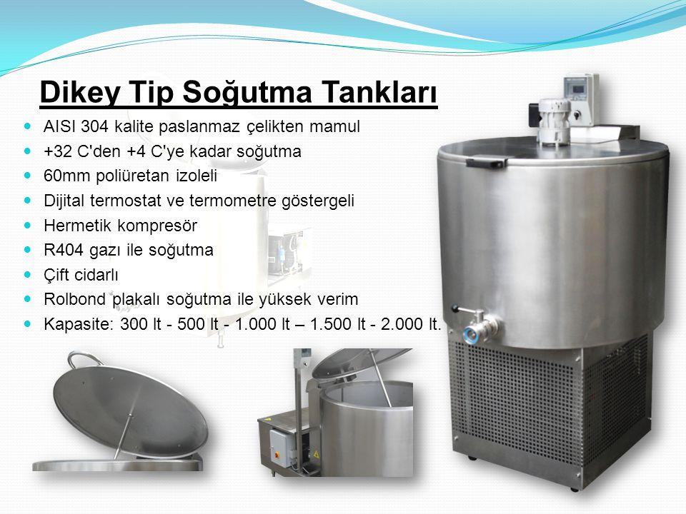 Dikey Tip Soğutma Tankları