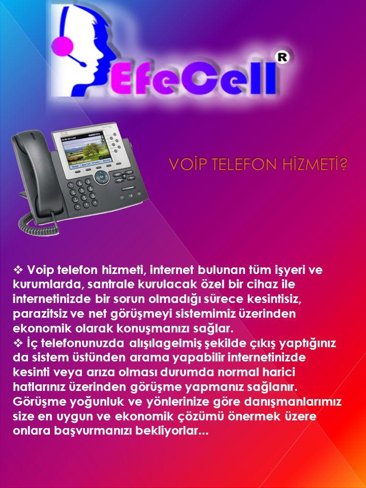 VOİP TELEFON HİZMETİ