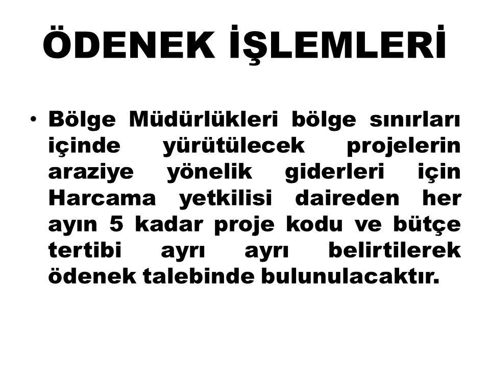 ÖDENEK İŞLEMLERİ