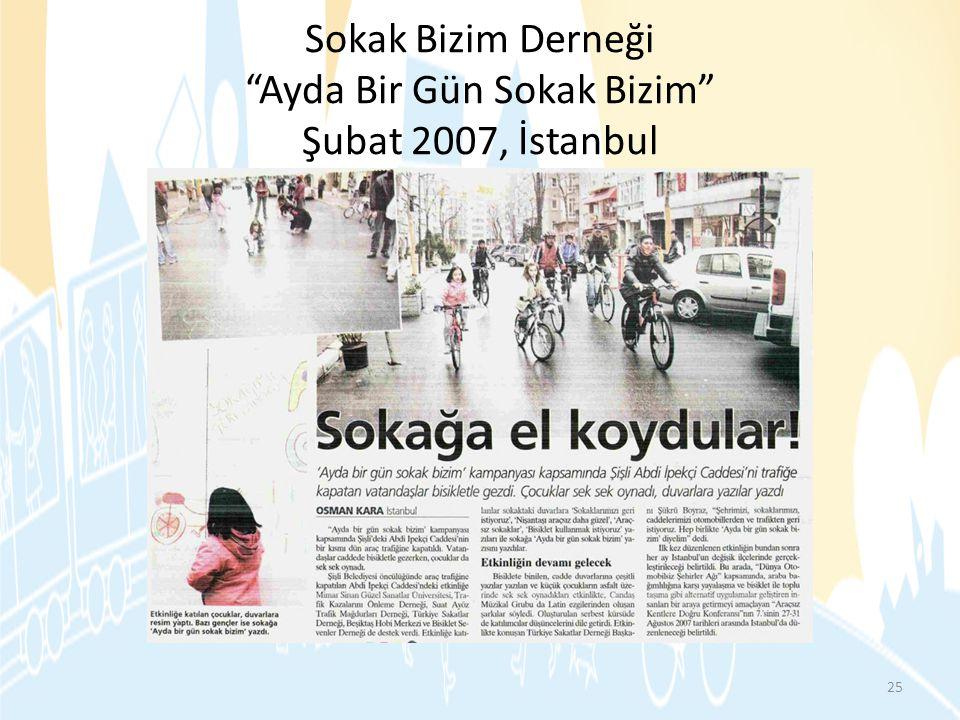 Sokak Bizim Derneği Ayda Bir Gün Sokak Bizim Şubat 2007, İstanbul