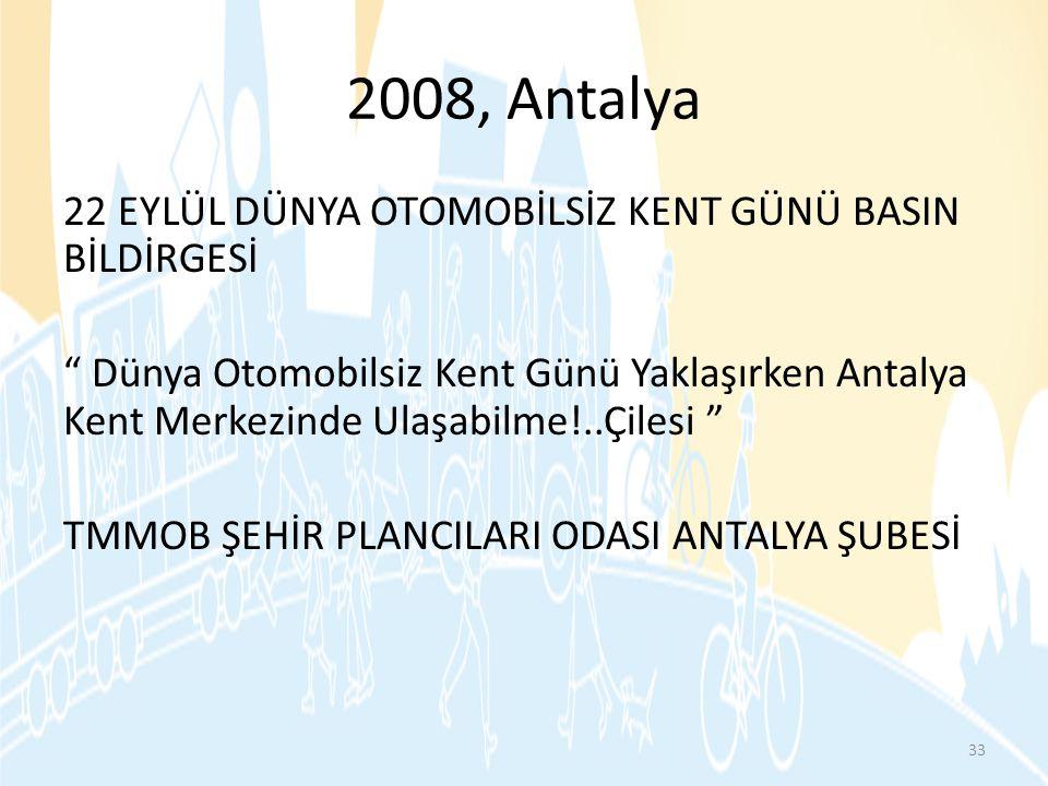 2008, Antalya