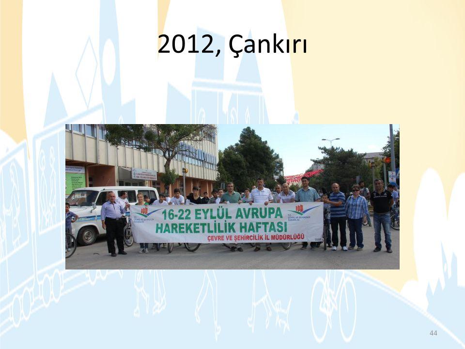 2012, Çankırı http://www.cankiri.gov.tr/index.php/post/view id=1641