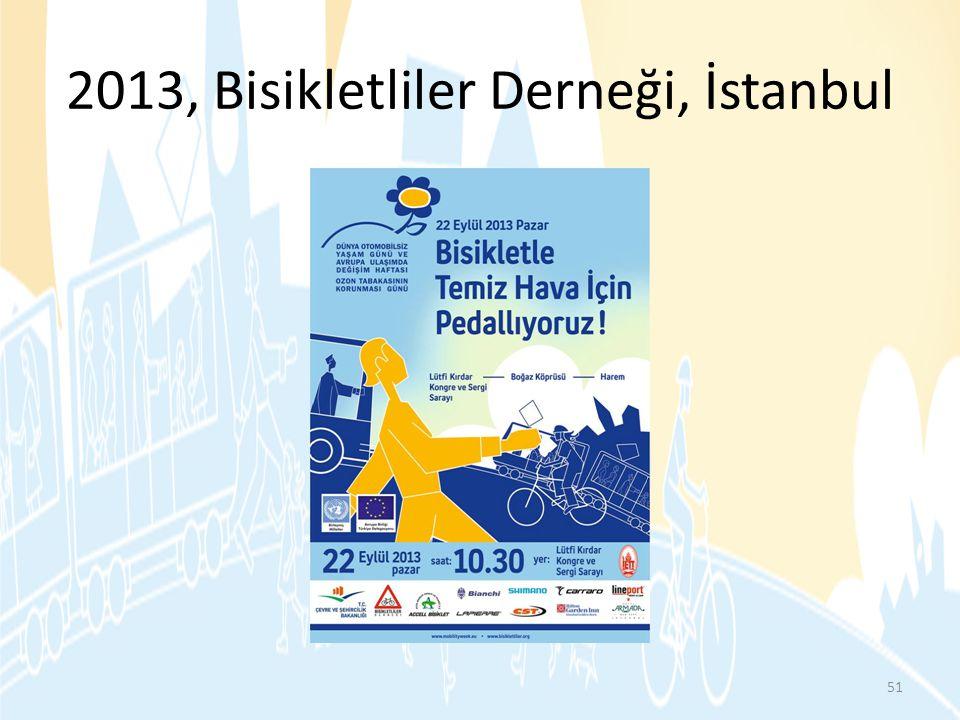 2013, Bisikletliler Derneği, İstanbul