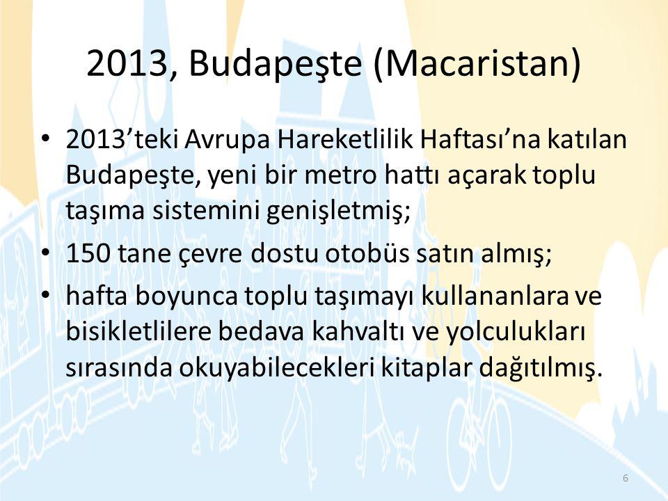 2013, Budapeşte (Macaristan)