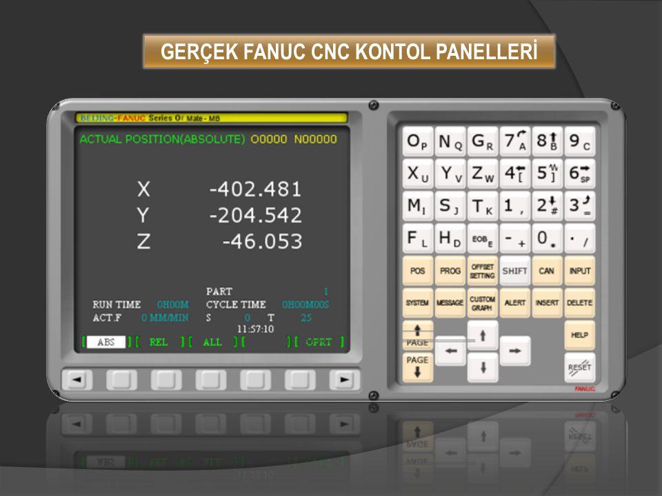 GERÇEK FANUC CNC KONTOL PANELLERİ