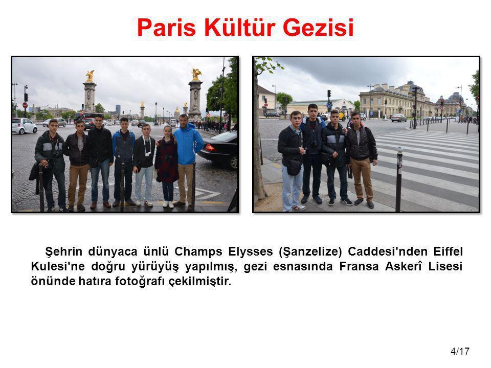Paris Kültür Gezisi