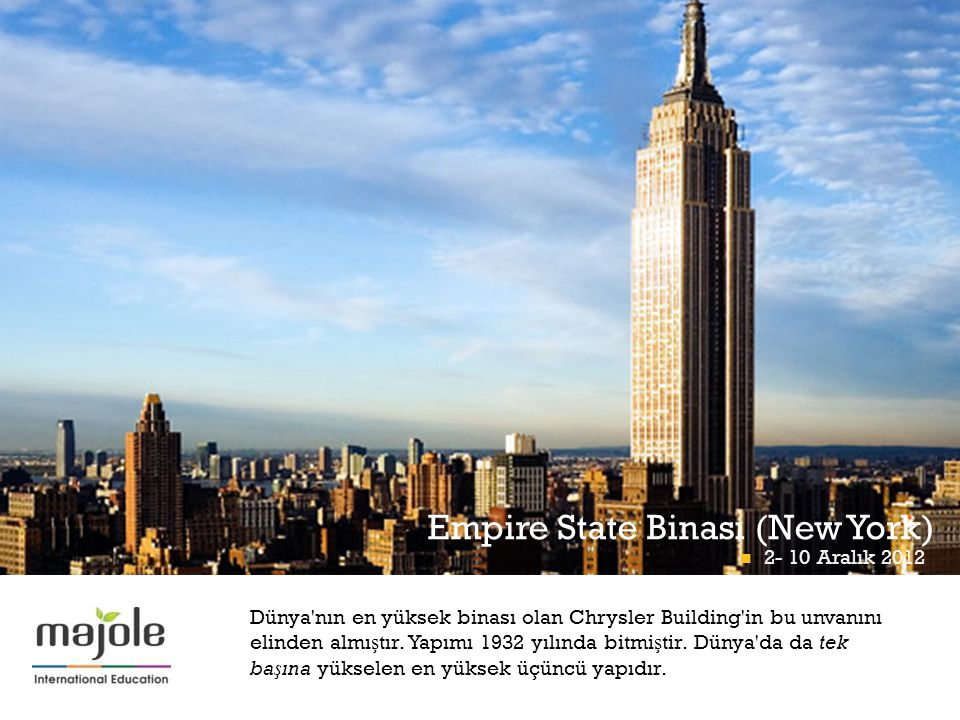 Empire State Binası (New York)