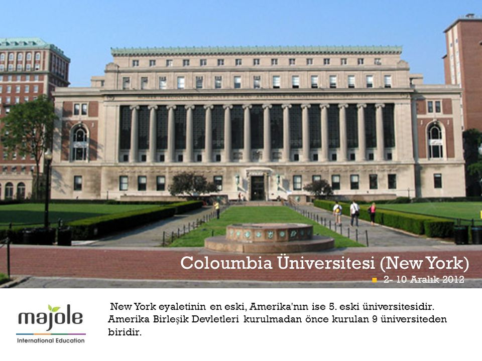 Coloumbia Üniversitesi (New York)