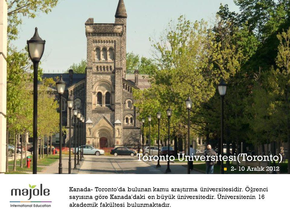 Toronto Üniversitesi(Toronto)