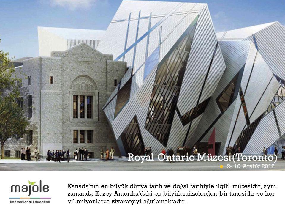 Royal Ontario Müzesi(Toronto)