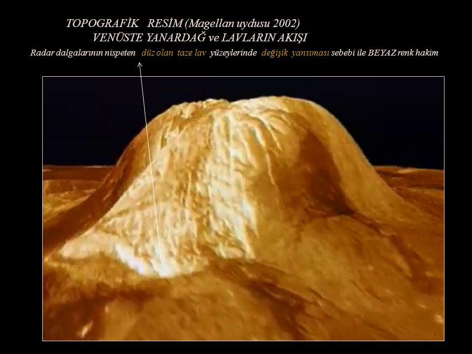 TOPOGRAFİK RESİM (Magellan uydusu 2002)