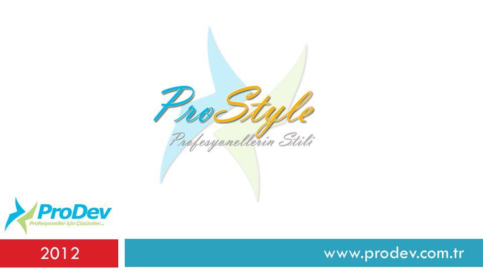 2012 www.prodev.com.tr