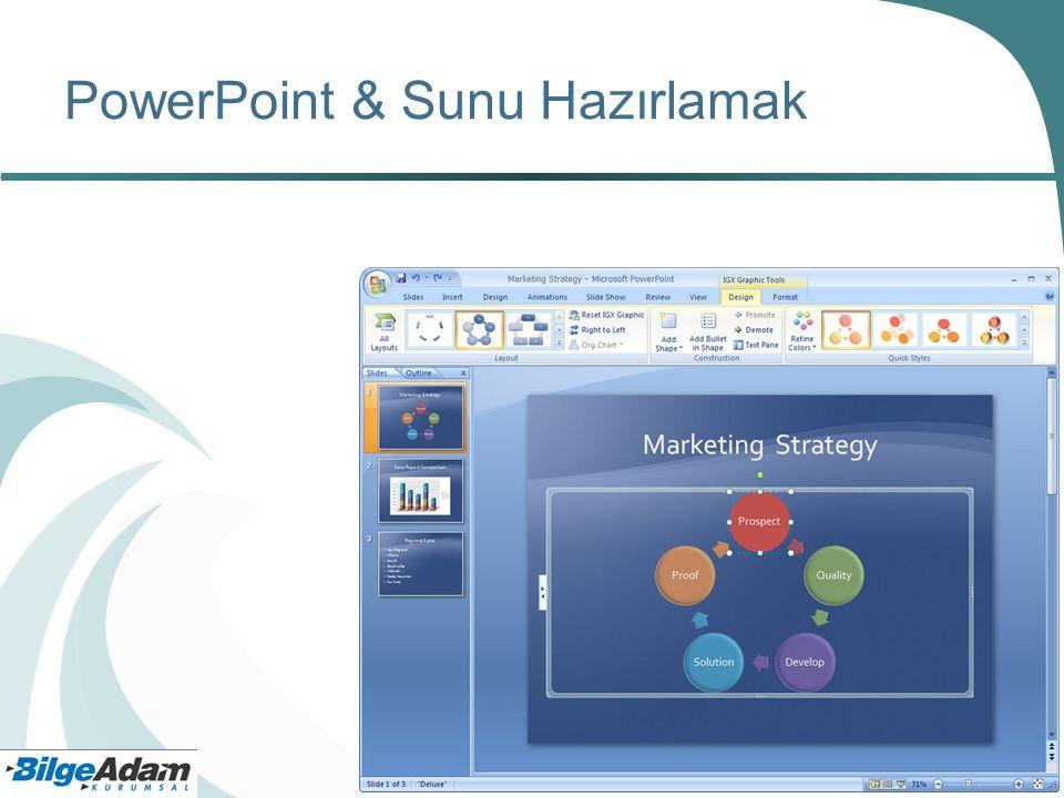 PowerPoint & Sunu Hazırlamak
