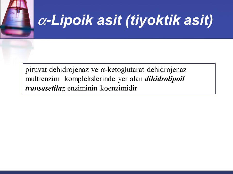 -Lipoik asit (tiyoktik asit)