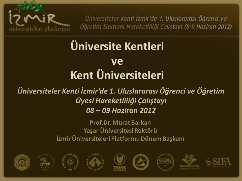 Üniversite Kentleri ve Kent Üniversiteleri