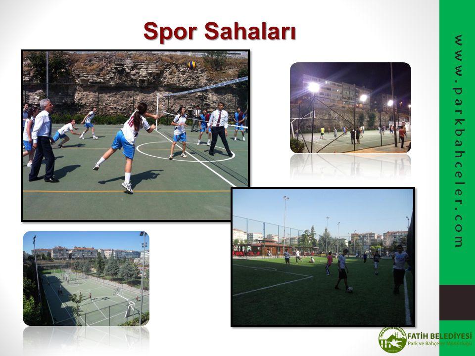 Spor Sahaları www.parkbahceler.com