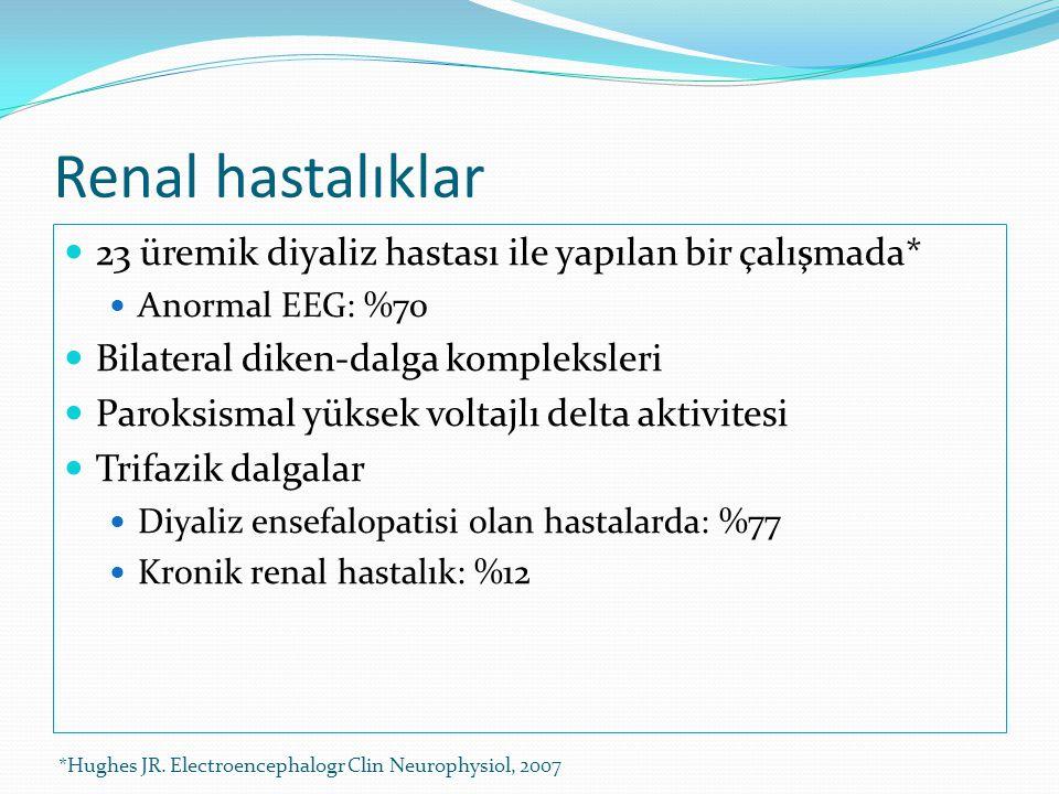 Renal hastalıklar 23 üremik diyaliz hastası ile yapılan bir çalışmada*