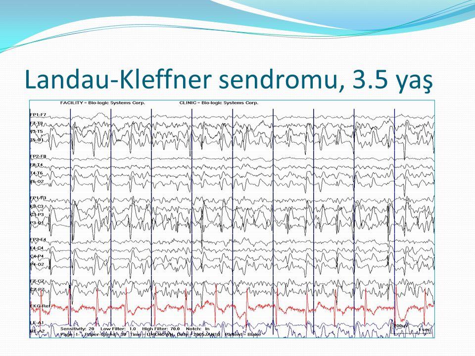 Landau-Kleffner sendromu, 3.5 yaş