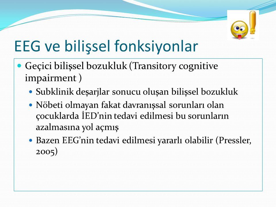 EEG ve bilişsel fonksiyonlar