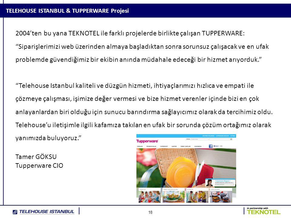 TELEHOUSE ISTANBUL & TUPPERWARE Projesi