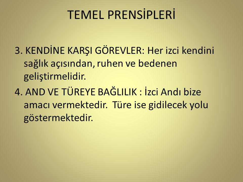 TEMEL PRENSİPLERİ