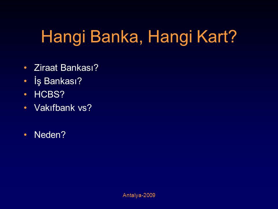 Hangi Banka, Hangi Kart Ziraat Bankası İş Bankası HCBS