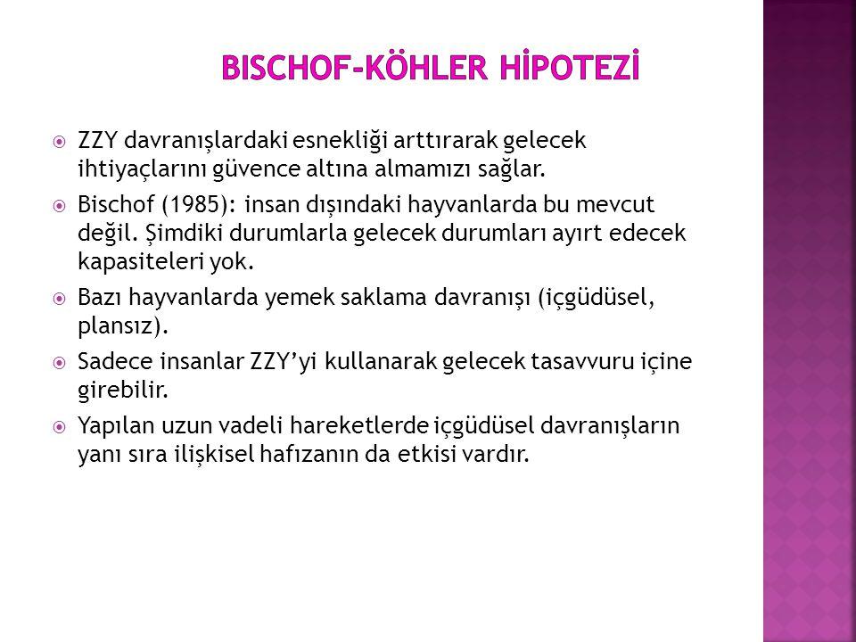 Bischof-Köhler HİpotEZİ